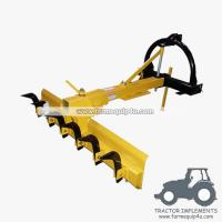 Best 4HDGBR - Tractor Mounted 3point Grader Blade with Rippers 4Ft - Heavy duty wholesale