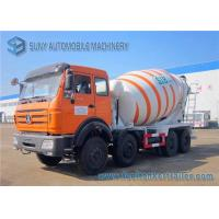 Best Beiben 8x4 concrete mixing truck NG80 Cab Weichai 336hp Engine wholesale