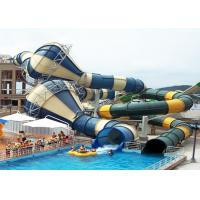 Best Giant Custom Water Slides Commercial Aqua Playground Open / Close Style Combined wholesale