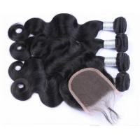 Best New Natural Hairline Lace Top Closure , Pre Plucked 360 Lace Frontal With Wig Cap wholesale
