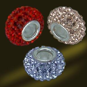 Best Crystal Beads 925 Sterling Silver Jewelry (AV0378) wholesale