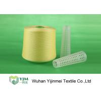 Best 502 Colored Ring Spun Dyed Polyester Yarn , Polyester Twisted Yarn For Knitting / Weaving wholesale