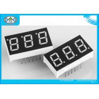 Cheap 30.1 X 16 X 7mm Digital Counter Display 0.4 Inch , 3 Digit Seven Segment Display For Indicators for sale