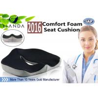 Best Customized Covers Coccyx Memory Foam Cushion Orthopedic Car Seat Cushion wholesale