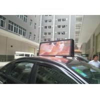 Best 3G Taxi Top Roof LED display , Digital Taxi Top Sign , Moving Led Display wholesale