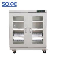 Buy cheap LCD Touch Screen Electronic Dry Cabinet Temperature And Humidity Control from wholesalers