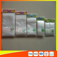 Best Resealable Clear Packing Ziplock Bags , Grip Seal Strong Ziplock Bags For Packing wholesale