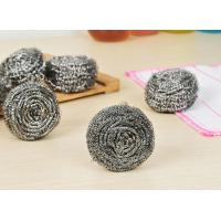 Best Strong Cleaning Capacity Metal Scouring Ball For Household Kitchen Cleaning wholesale