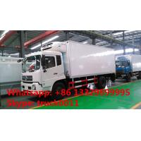 Quality dongfeng tianjin 4*2 LHD Cummins 170hp/190hp diesel refrigerated truck for sale, hot sale dongfeng cold room truck wholesale