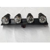 Best 55W 12V 4x4 Driving Lights ,  ABS Plastic Jeep Light Bar With 4 Spotlight Bulbs wholesale