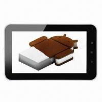Best 7-inch Tablet PCs, Android 4.0 Allwinner A10 5 Points Capacitive Touch Panel, 1.5GHz Master Frequenc wholesale
