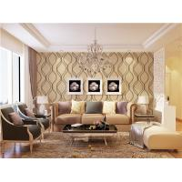 Cheap High quality modern design PVC vinyl wall paper for sale