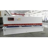 Best Plate Hydraulic Sheet Metal Cutting Machine NC Control 8 X 4000mm wholesale