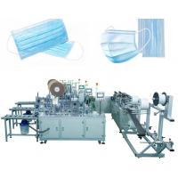 Best 3 Layers Disposable Mask Making Machine , High Capacity Surgical Mask Making Machine wholesale