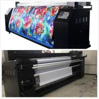 Quality Pennant Flags Sublimation Digital Textile Printing Machine 5.5KW wholesale