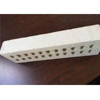 Best Pure White Multi Holes Perforated Clay Bricks Anti - Freeze 35% Void Ratio wholesale