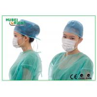 Best Lightweight Disposable Face Mask 3ply With Ear Loop , Poly Cellulose Materials wholesale