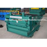Best 2mm Thickness Cold Roll Forming Machine , Leveling Machine For Falt Sheet With 7.5kw Motor wholesale