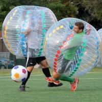 Quality Transparent Human Inflatable Soccer Balll Inflatable Sports Games For Sports Ball Funny Bumper Ball wholesale