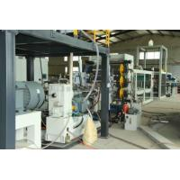 Full Automatic Egg Tray Plastic Thermoforming Sheet Extrusion Line 100kw Installed Power