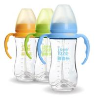 Best 240ML Unbreakable Glass Baby Sipper Water Bottle Blue Pink Yellow Color Available wholesale