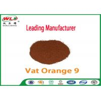 Best Pure Cotton Indanthrene Dye C I Vat Orange 9 Vat Golden Orange G wholesale