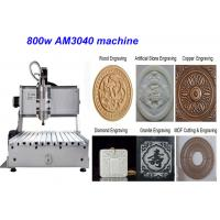 Best High quaility 3040 800W mini cnc metal engraving desktop cnc router machine wholesale