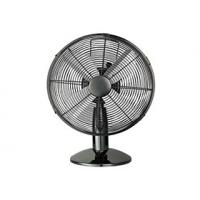 Chrome Metal Decorative Desk Fan 12 Inch 110V - 240V For American Market