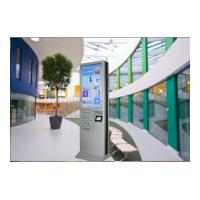 Best 4 Cell Phone Charging Lockers 43 Inch Advertising Digital Signage Floor Stand wholesale