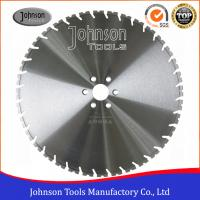 Best 600mm Laser Welded Diamond Wall Saw Blades for Wall Saws , reinforced concrete saw blade wholesale