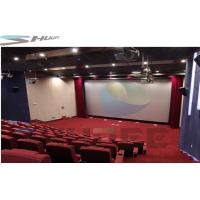Best Customized 36 / 50 / 120 Persons 4D Movie Theater Cinema With Motion Theater System wholesale