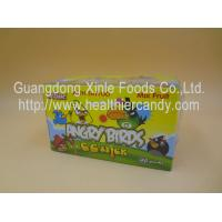 Best Angry Bird 11g Low Calorie Candy Bar Mix Fruit CC Chubby Stick Curvy Candy wholesale