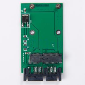 Cheap Mini PCIe PCI-e MSATA SSD Micro adaptateur SATA PCBA HG OEM Service for sale