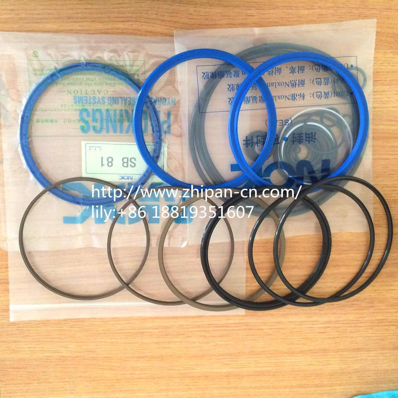 Best Soosan SB-81 Complete Breaker Seal Kit 1.5m/S Speed Abrasion Resistance wholesale