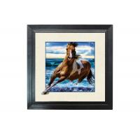 Best Running Horse Image 3D Lenticular Printing Service MDP Frame 5D Effect wholesale