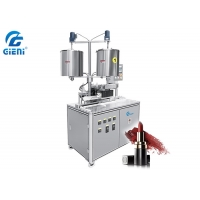 Buy cheap 8kw Metal Mold 10 Nozzles Lipstick Filling Machine from wholesalers