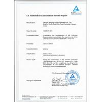 Jiangsu Aogang Optical Glasses Co., Ltd. Certifications