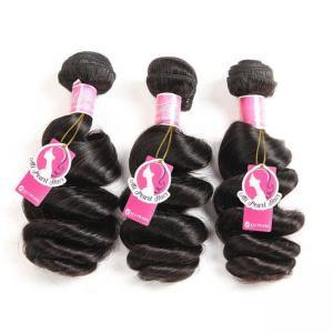 Best Loose Wave Brazilian Human Hair Bundles Deals , Brazilian Wave Hair Extensions wholesale