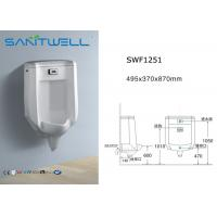 Best Ceramic Retrofit Washdown Urinal SWF 1251 495*370*870 mm size wholesale