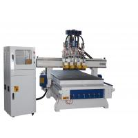 China CE Multi Head 3d 4 Axis Cnc Router Machne For Board Furniture Industry on sale
