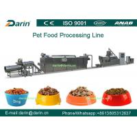 Best Dog Fish Cat Pet Food Extruder equipment / machine , Dry pet food machinery wholesale