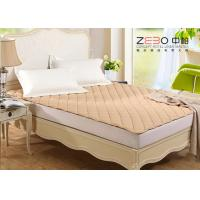 Buy cheap Different Color Hotel Mattress Protector Microfiber With Elastic Bands At 4 Corners from wholesalers