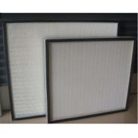Best Easy Installation High Capacity Hepa Filter Thin Thickness Minimum 25mm For Clean Room wholesale
