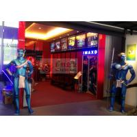 Cheap Wonderful 4D Movie Theatre with Hydraulic 4D Simulator for sale