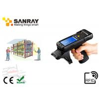 Cheap WinCE 6.0 OS Handheld UHF RFID Reader Writer ISO18000-6C 32GB for sale