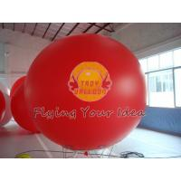 Best Supply Bespoke Large Red Inflatable Advertising Balloons with UV protected printing for Anniversary Events wholesale