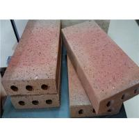 Quality Turned Color Clay Baking Brick For Outside Road Thickness 30/40/50/60mm wholesale