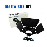 Cheap Matte Box 15 mm Rail Rod Support M1 for DSLR Camera 5DIII 60D 600D T3i D800 D90 for sale