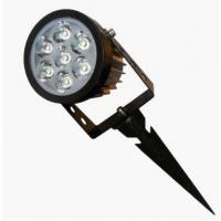 Best Adjustable waterproof rotate small size 7W IP65 LED garden light with spike wholesale