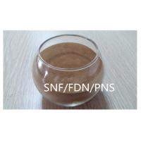 China Poly naphthalene sulfonate SNF / PNS / FDN powder Construction / Textile Use on sale